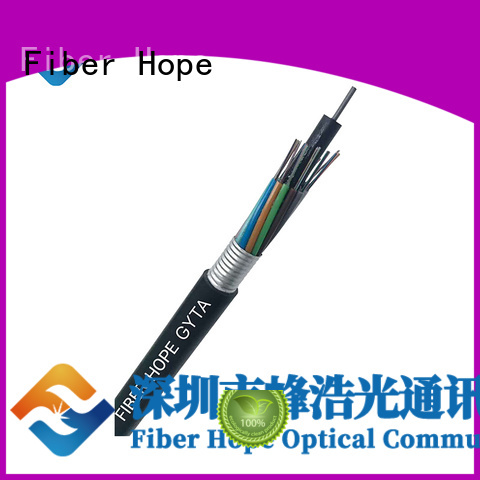 Fiber Hope waterproof fiber cable types best choise for networks interconnection