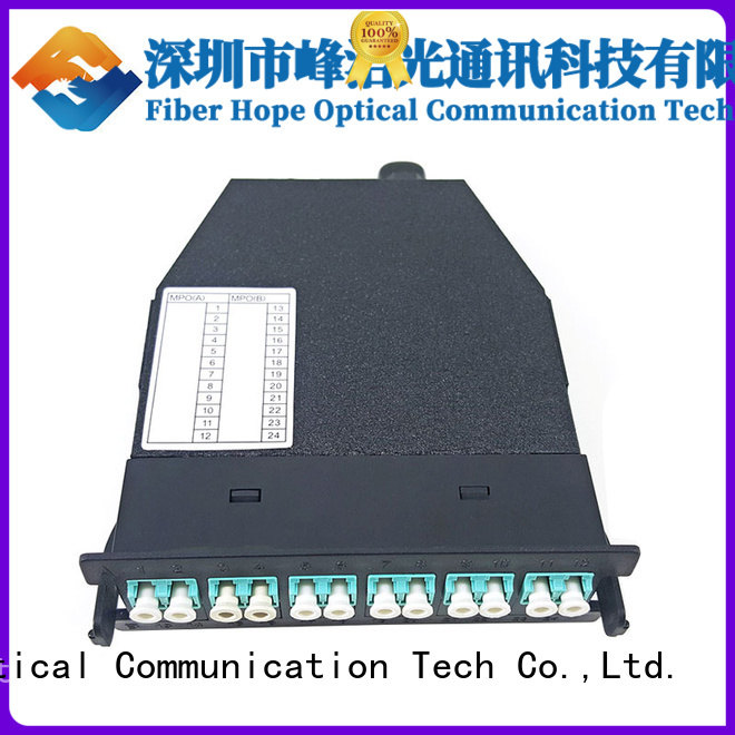 Fiber Hope professional mpo connector used for WANs