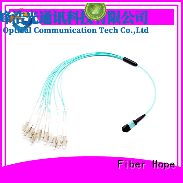 Fiber Hope fiber optic patch cord cost effective FTTx
