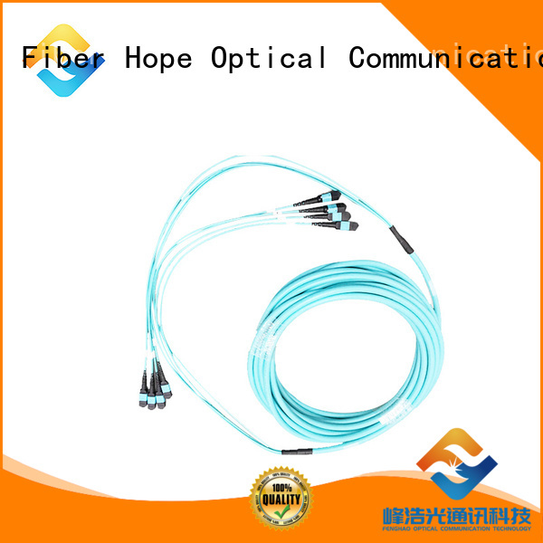 Fiber Hope MM cable used for communication systems