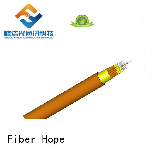 Fiber Hope clear signal indoor fiber optic cable excellent for computers