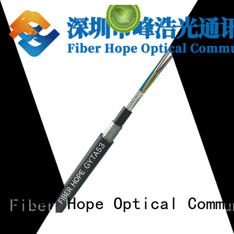 Fiber Hope high tensile strength outdoor fiber patch cable best choise for networks interconnection