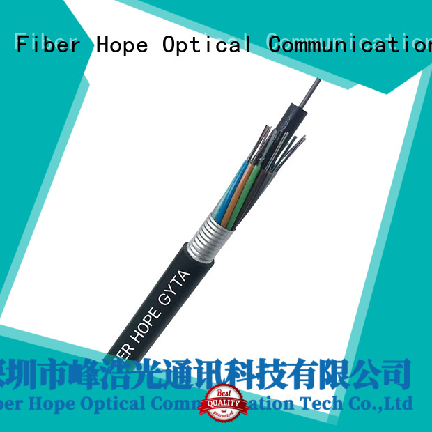 Fiber Hope outdoor fiber optic cable good for outdoor