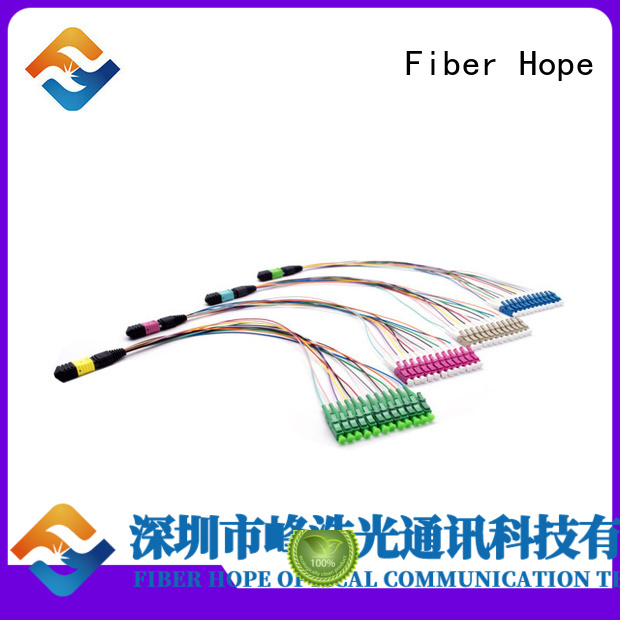 Fiber Hope harness cable widely applied for communication systems