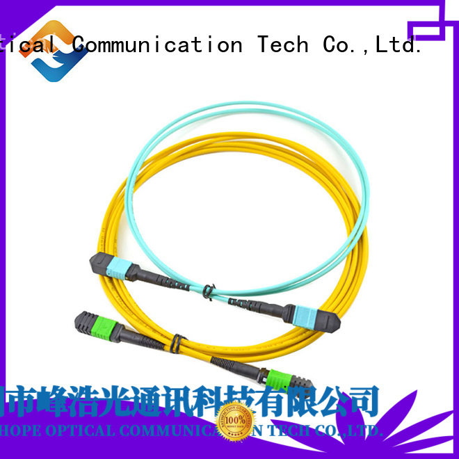 Fiber Hope mpo to lc widely applied for basic industry