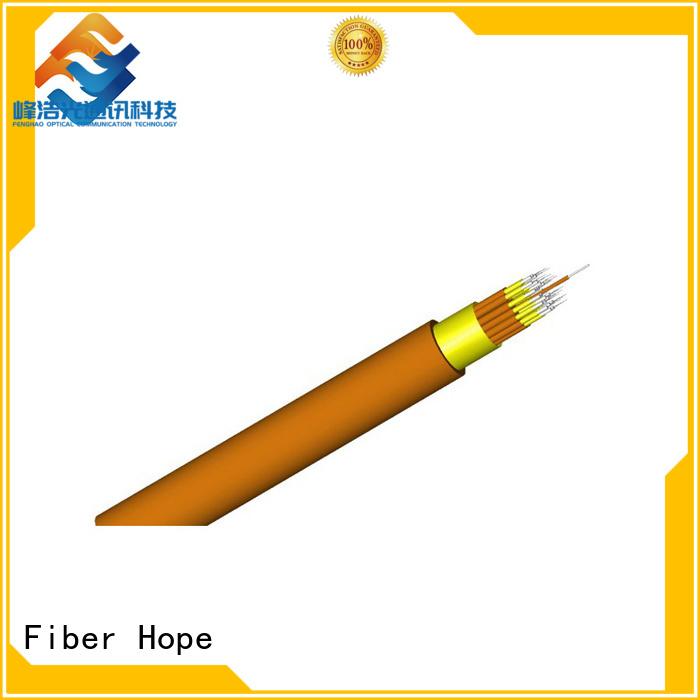 Fiber Hope 12 core fiber optic cable good choise for communication equipment