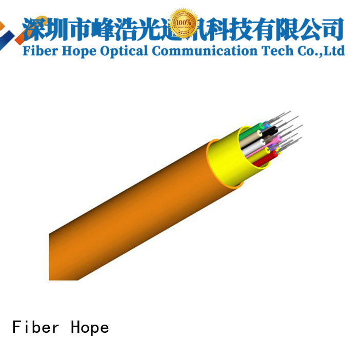 Fiber Hope indoor fiber optic cable excellent for transfer information