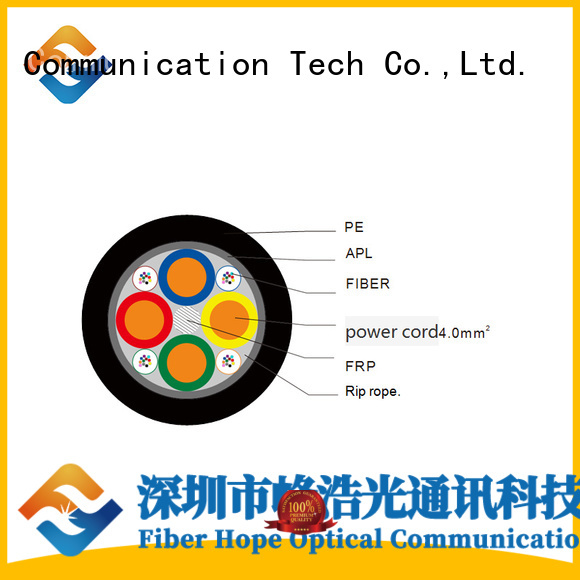 Fiber Hope bulk fiber optic cable suitable for network system