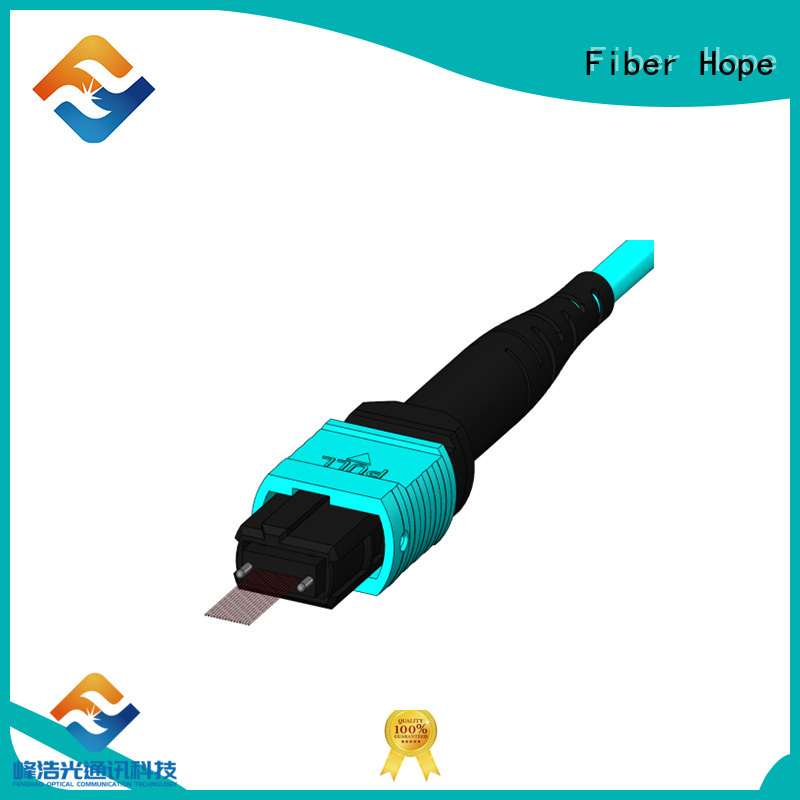Fiber Hope mpo cable cost effective communication industry