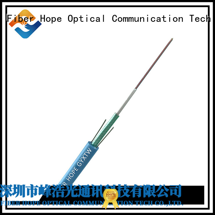 Fiber Hope thick protective layer multimode fiber optic cable networks interconnection
