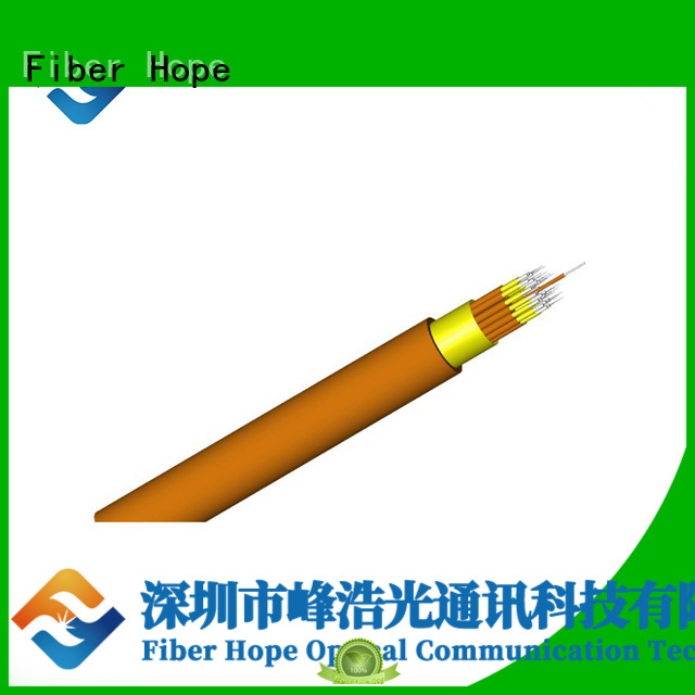 Fiber Hope 12 core fiber optic cable satisfied with customers for communication equipment