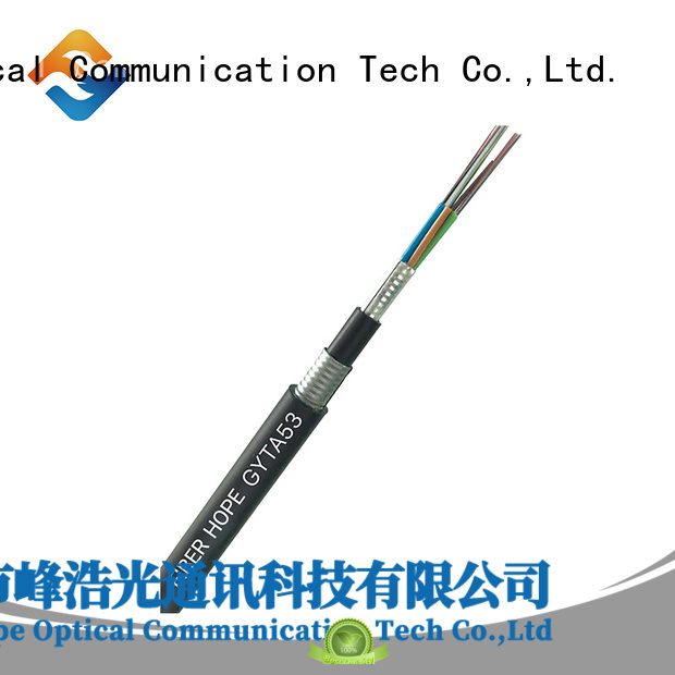 Fiber Hope outdoor fiber cable best choise for networks interconnection