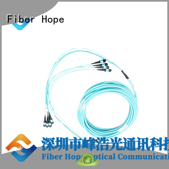 Fiber Hope good quality mpo to lc breakout cable WANs