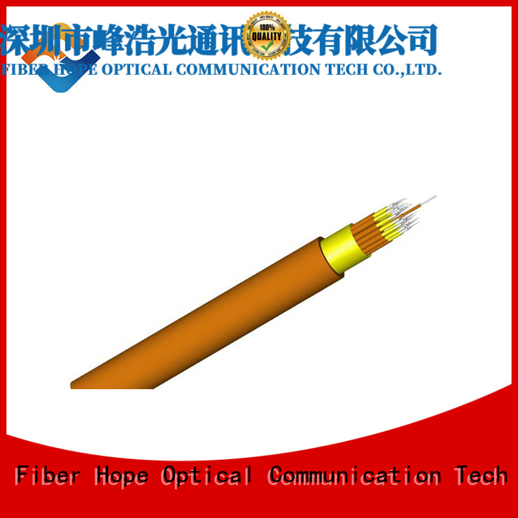 Fiber Hope large transmission traffic multimode fiber optic cable indoor