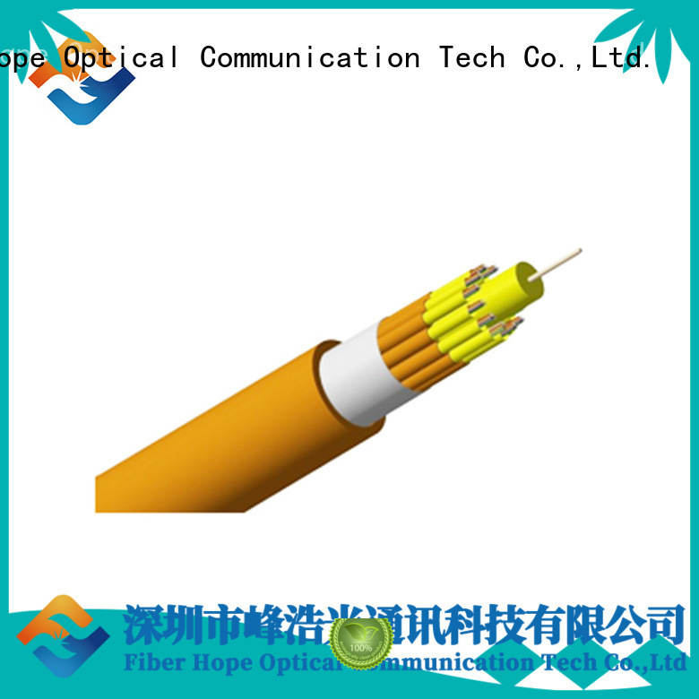 Fiber Hope 12 core fiber optic cable excellent for switches