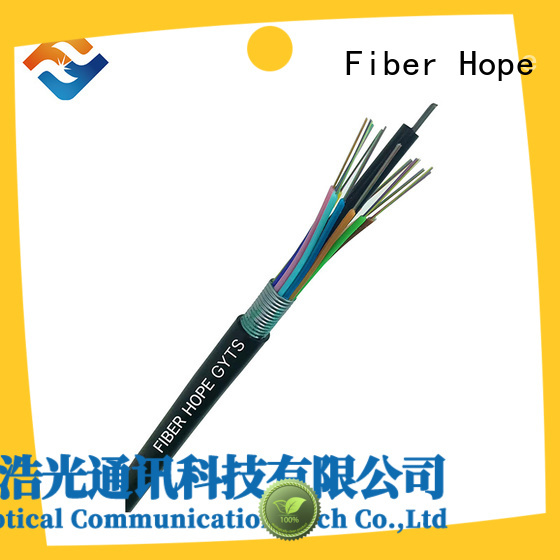 Fiber Hope armoured cable outdoor ideal for networks interconnection