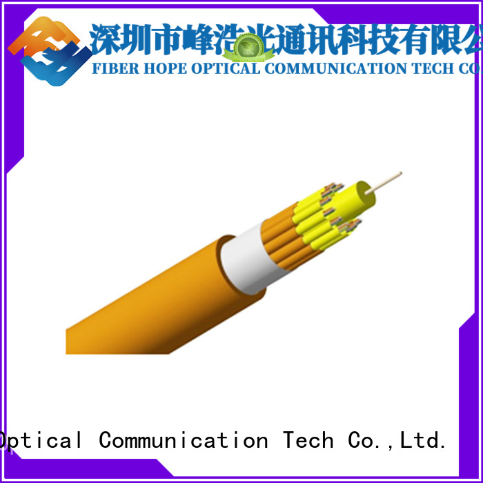 Fiber Hope fast speed 12 core fiber optic cable satisfied with customers for switches