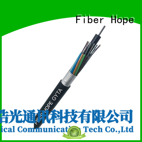 Fiber Hope waterproof 4 core cable good for outdoor
