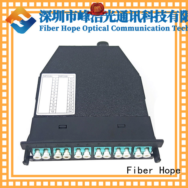 Fiber Hope mpo cable widely applied for communication systems