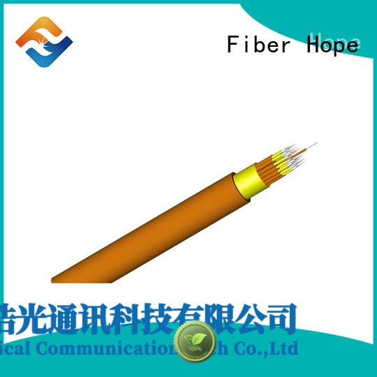 Fiber Hope multimode fiber optic cable transfer information