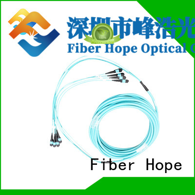 Fiber Hope good quality fiber optic patch cord used for LANs
