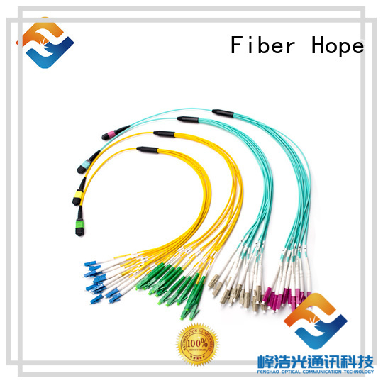 Fiber Hope high performance mtp mpo widely applied for WANs