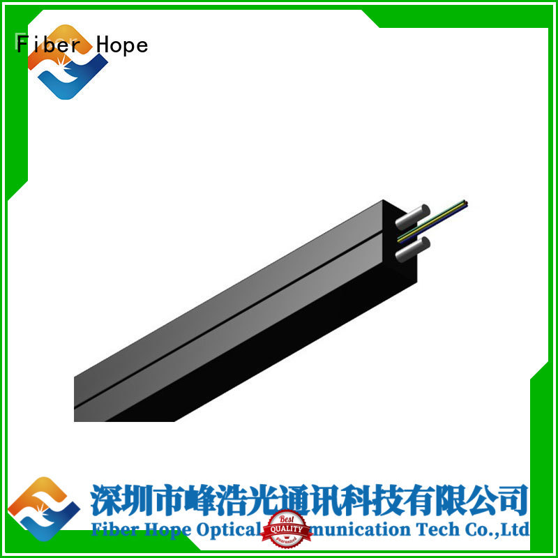 strong practicability ftth drop cable applied for indoor wiring