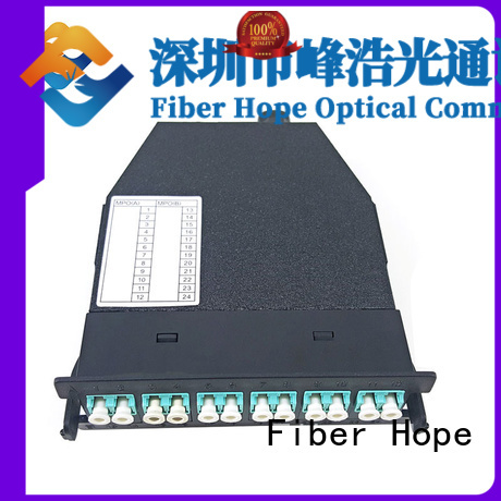 Fiber Hope fiber patch cord widely applied for WANs