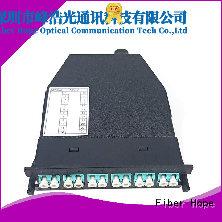 Fiber Hope fiber optic patch cord used for networks