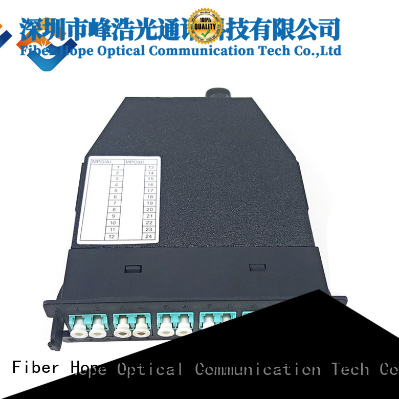 Fiber Hope fiber optic patch cord used for communication systems