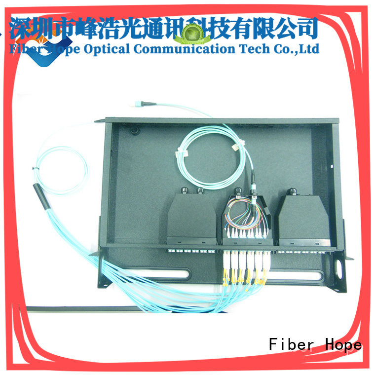 Fiber Hope fiber optic patch cord widely applied for communication industry