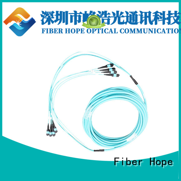 efficient fiber patch cord popular with LANs