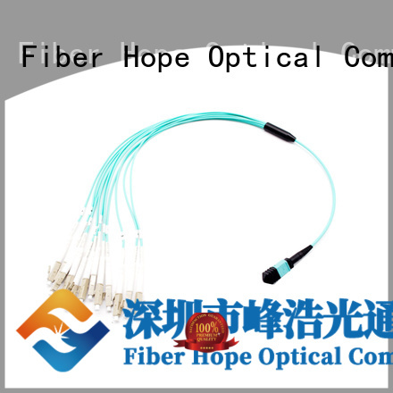Fiber Hope mpo cable widely applied for communication industry
