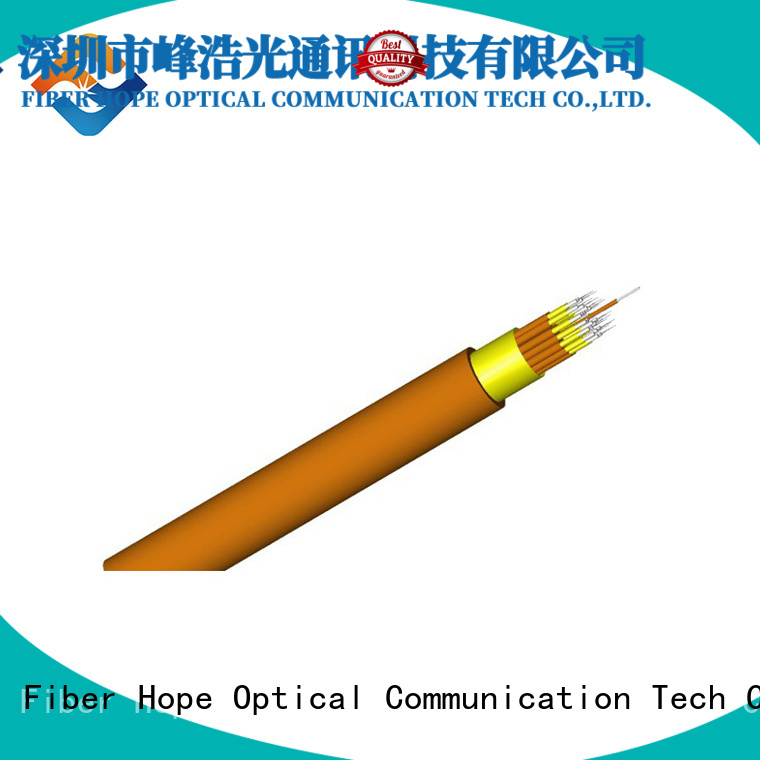 12 core fiber optic cable satisfied with customers for indoor