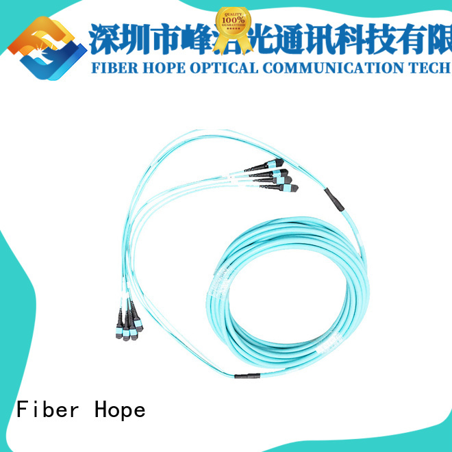 Fiber Hope fiber optic patch cord communication systems