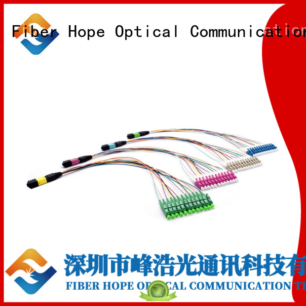 Fiber Hope mpo cable used for LANs