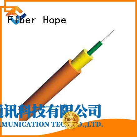Fiber Hope indoor fiber optic cable transfer information