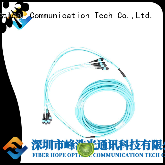 high performance mpo cable popular with communication systems