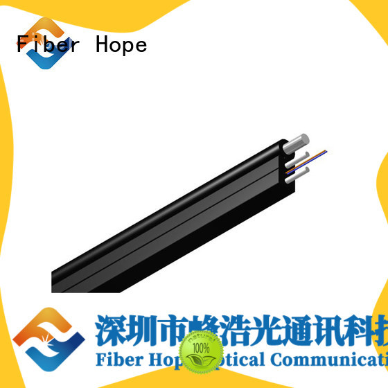 Fiber Hope easy opertaion ftth drop cable suitable for indoor wiring