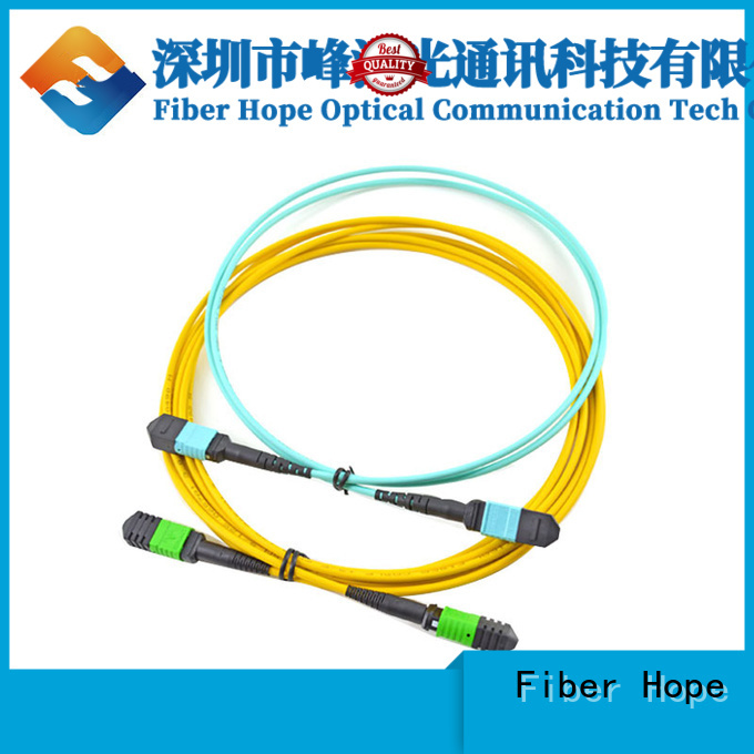 Fiber Hope good quality mpo connector widely applied for WANs