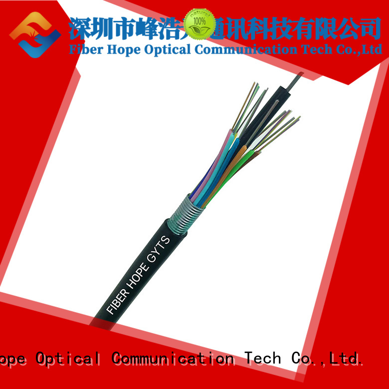 Fiber Hope armored fiber optic cable ideal for outdoor