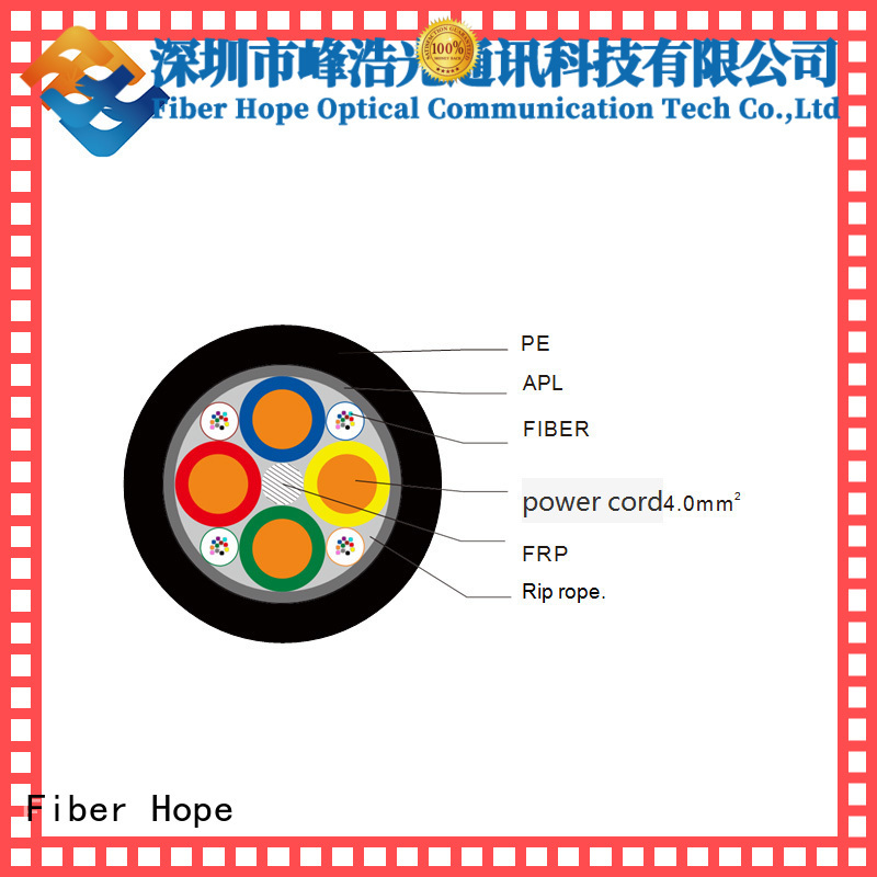 Fiber Hope bulk fiber optic cable ideal for network system