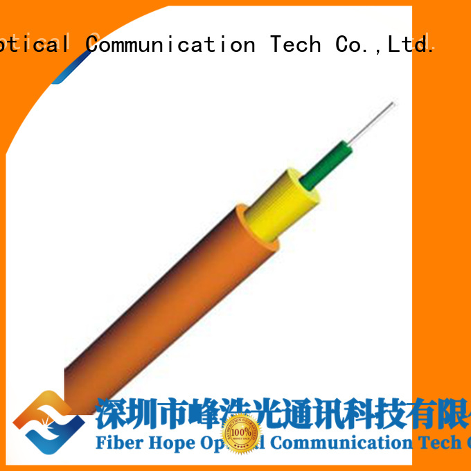 Fiber Hope 12 core fiber optic cable communication equipment