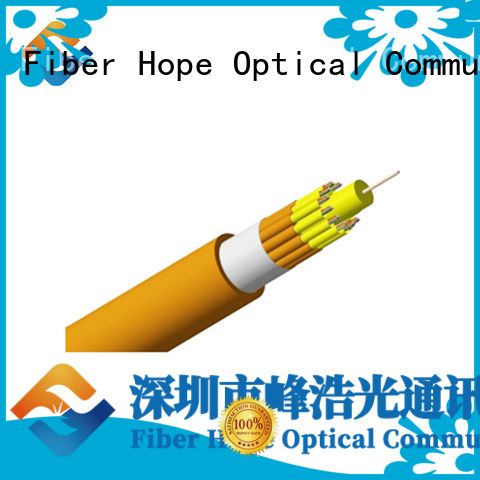 Fiber Hope fast speed multicore cable satisfied with customers for indoor