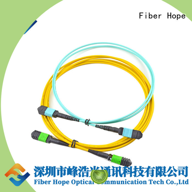Fiber Hope fiber patch cord cost effective networks