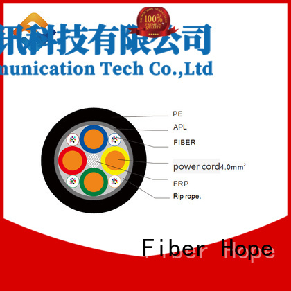 composite fiber optic cable ideal for communication system