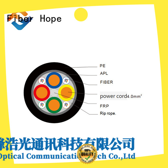 Photoelectric composite cable, Composite fiber optic cable