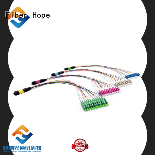 Fiber Hope cable assembly widely applied for FTTx