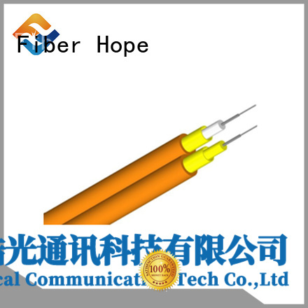 Fiber Hope clear signal 12 core fiber optic cable indoor