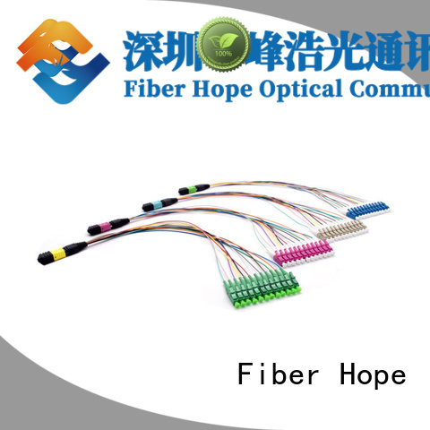 Fiber Hope cable assembly cost effective communication industry